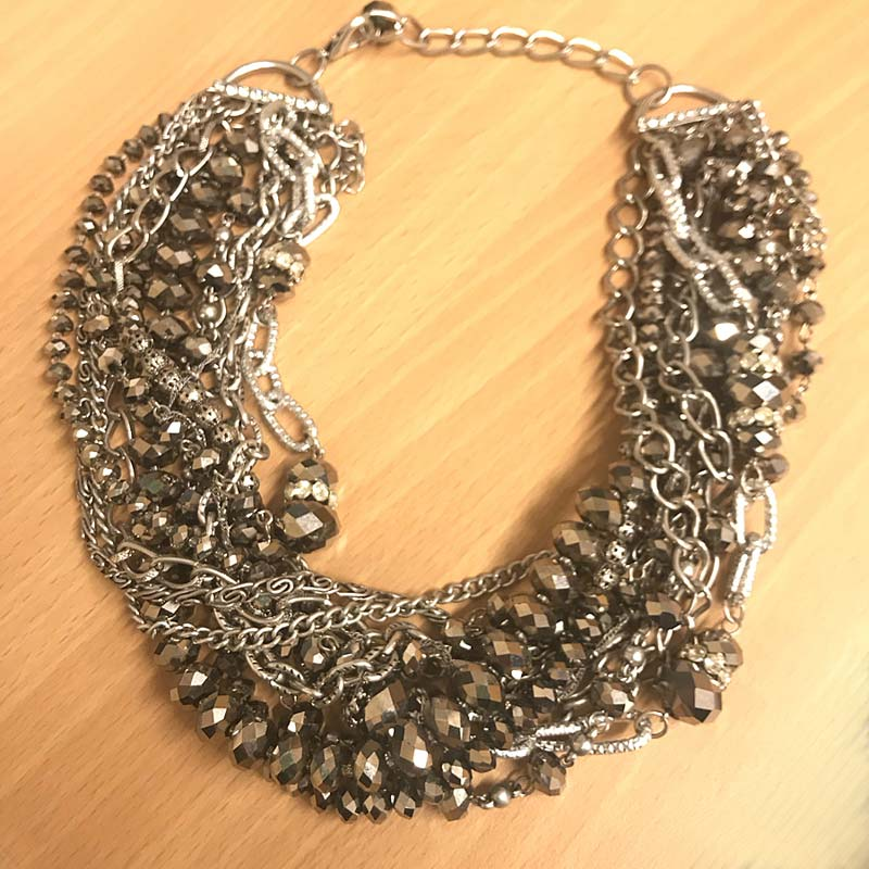 Multi-strands bead Necklace