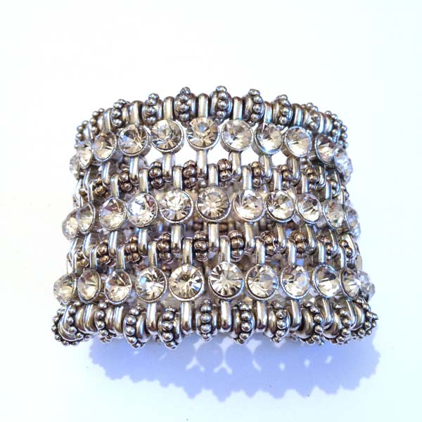 Crystal Cuff with diamante