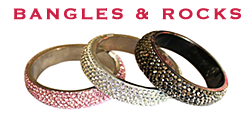 Designer Silver Jewellery and Contemporary Fashion Jewellery from Bangles & Rocks